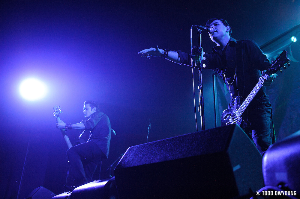Photos of goth metal band Dommin supporting HIM at the Pageant in St. Louis on April 7, 2010 by music photographer Todd Owyoung.