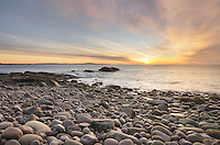 Cobblestone Beach at Otter Cliffs, Acadia National Park, Maine