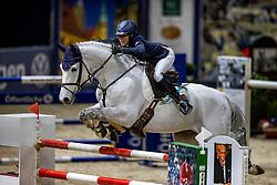 DIEDERICHSMEIER Julie Mynou (GER), Carlucci<br /> Grand Prix von Volkswagen<br /> Int. jumping competition over two rounds (1.55 m) - CSI3*<br /> Comp. counts for the LONGINES Rankings<br /> Braunschweig - Classico 2020<br /> 08. März 2020<br /> © www.sportfotos-lafrentz.de/Stefan Lafrentz