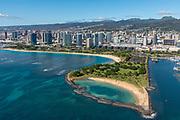 Magic Island, Honolulu, Oahu, Hawaii