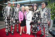 Judith Chalmers; Barbara Windsor;;  attend The Galleries of Modern London launch party at the Museum of London on May 27, 2010 in London. <br /> -DO NOT ARCHIVE-© Copyright Photograph by Dafydd Jones. 248 Clapham Rd. London SW9 0PZ. Tel 0207 820 0771. www.dafjones.com.