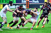 Florian FRITZ / Rabah SLIMANI - 24.04.2015 - Stade Francais / Stade Toulousain - 23eme journee de Top 14<br />