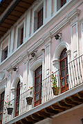 Colonial architecture detail, Quito, Ecuador, South America