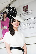 30/07/2015 report free : Winners Announced in Kilkenny Best Dressed Lady, Kilkenny Best Irish Design & Kilkenny Best Hat Competition at Galway Races Ladies Day <br /> Finalist  at the event were Siobhan O'Donoghue, Cork  <br /> Photo:Andrew Downes, xposure