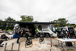 Team Dimension Data during 5th Time Trial Stage of 25th Tour de Slovenie 2018 cycling race between Trebnje and Novo mesto (25,5 km), on June 17, 2018 in  Slovenia. Photo by Vid Ponikvar / Sportida
