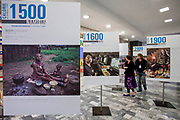 Rome, Italy. Exhibit of What I Eat: Around the World in 80 Diets at the headquarters of the Food and Agriculture Organization of the United Nations. ©FAO