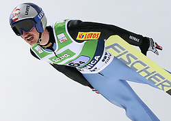 Adam Malysz (POL) at Flying Hill Team in 3rd day of 32nd World Cup Competition of FIS World Cup Ski Jumping Final in Planica, Slovenia, on March 21, 2009. (Photo by Vid Ponikvar / Sportida)