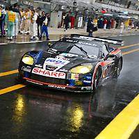 #70 Chevrolet Corvette C6R (GT1), PSI Experience (drivers: Peter, Hallyday, Gosselin), Le Mans 24H 2007