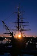 Dawn Treader Ship at Anchor in Dana Point Harbor