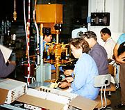 Hennessy cognac brandy production, Cognac, France 1973