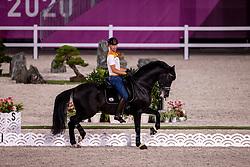 Minderhoud Hans Peter, NED, Glock's Dream Boy N.O.P.<br /> Olympic Games Tokyo 2021<br /> © Hippo Foto - Dirk Caremans<br /> 21/07/2021