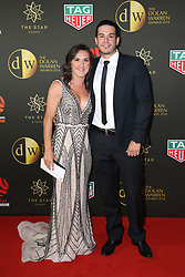 Players from the Westfield W-League and Hyundai A-League arrive on the red carpet for the 2018 Dolan Warren Awards at The Star Event Centre - 80 Pyrmont St, Pyrmont, NSW. 30 Apr 2018 Pictured: Lisa De Vanna, Jamie Galluzzo. Photo credit: Richard Milnes / MEGA TheMegaAgency.com +1 888 505 6342