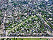 Nederland, Overijssel, Gemeente Enschede; 21–06-2020; overzicht van de woonwijk Roombeek, herbouwd na de vuurwerkramp (S.E. Fireworks). <br /> Diagonaal de Museumlaan (een van de drie assen van Roombeek) richting Rijksmuseum Twenthe.<br /> Overview of the residential area of Roombeek, rebuilt after the fireworks disaster (S.E. Fireworks).<br /> <br /> luchtfoto (toeslag op standard tarieven);<br /> aerial photo (additional fee required)<br /> copyright © 2020 foto/photo Siebe Swart
