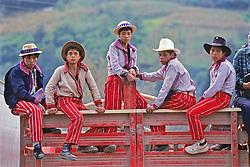 Young Men On Trucks Todos Santos Festival