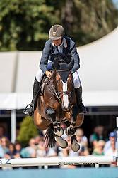 Lemmen Patrick, NED, Inostello M<br /> FEI WBFSH Jumping World Breeding Championship for young horses Zangersheide Lanaken 2019<br /> © Hippo Foto - Dirk Caremans
