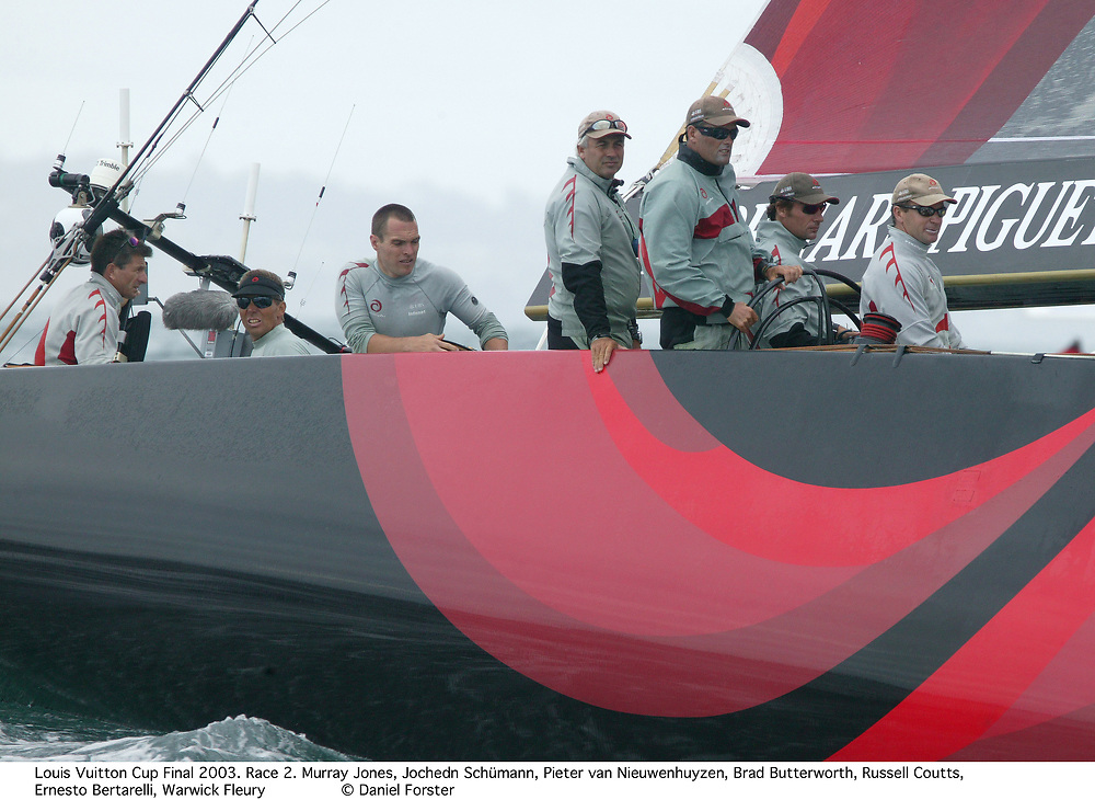 Russel Coutts: ALINGHI, America's Cup 2003<br /> Auckland, New Zealand