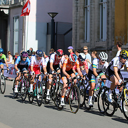 LEUVEN (BEL): CYCLING: September 25th<br /> Peloton in action with Anna van der Breggen