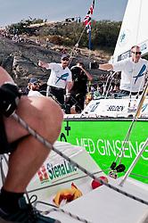 Ainslie defeating Radich 2-0 in the final - onboard Radich -- Stena Match Cup Sweden 2010, Marstrand-Sweden. World Match Racing Tour. photo: Loris von Siebenthal - myimage