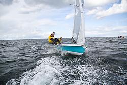 , Kiel - SAP 505er World Championship 2014, 505er, GER 8988, Georg MITTERMAYER, Dirk BARTELDT, Segelclub Landsberg e. V