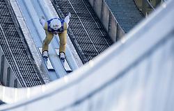 31.12.2017, Olympiaschanze, Garmisch Partenkirchen, GER, FIS Weltcup Ski Sprung, Vierschanzentournee, Garmisch Partenkirchen, Training, im Bild Daniel Huber (AUT) // Daniel Huber of Austria during his Practice Jump for the Four Hills Tournament of FIS Ski Jumping World Cup at the Olympiaschanze in Garmisch Partenkirchen, Germany on 2017/12/31. EXPA Pictures © 2017, PhotoCredit: EXPA/ Jakob Gruber