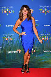 Lizzie Cundy attending the premiere of Cirque du Soleil's Totem, in support of the Sentebale charity, held at the Royal Albert Hall, London.