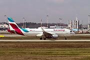 D-AIZV Eurowings Airbus A320-214(WL) at Malpensa (MXP / LIMC), Milan, Italy