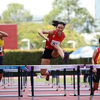 A Girls 100m Hurdles