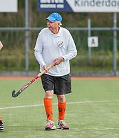 WAGENINGEN - Oudste lid, Jan Vis (90) . lustrum 2019,  60+ hockey, 30jaar.   met wedstrijden en andere festiviteiten.   COPYRIGHT KOEN SUYK