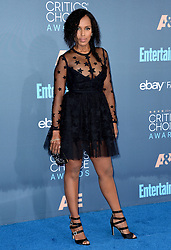 Kerry Washington attends the 22nd Annual Critics' Choice Awards at Barker Hangar on December 11, 2016 in Santa Monica, Los Angeles, CA, USA. Photo By Lionel Hahn/ABACAPRESS.COM