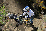 Even older BMW R80GS motorcycles were competitive in the 2009 Adventure Rider Challenge