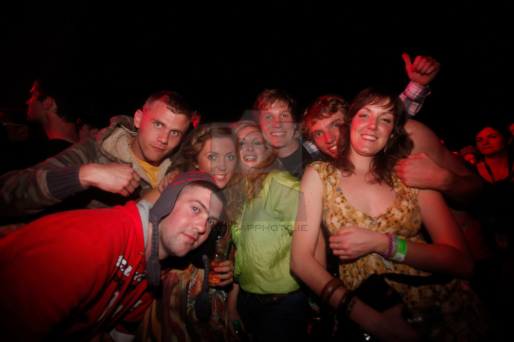 Leftfield headline Act for the Saturday night at the Electric Picnic 2010. Pic Andres Poveda