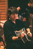 Phil Everly of the Everly Brothers at New River recording studio,Ft Lauderdale,Florida,March 1987.