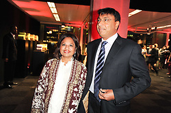 LAKSHMI & USHA MITTAL at ARTiculate, Pratham UK Fundraising Gala held at The Old Billingsgate Market, City Of London on  11th September 2010 *** Local Caption *** Image free to use for 1 year from image capture date as long as image is used in context with story the image was taken.  If in doubt contact us - info@donfeatures.com<br /> LAKSHMI & USHA MITTAL at ARTiculate, Pratham UK Fundraising Gala held at The Old Billingsgate Market, City Of London on  11th September 2010