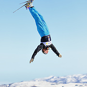 GW Creighton (Boise, ID) performs aerial acrobatics during the 2009 Sprint US Freestyle Championships held at the Utah Olympic Park in Park City on March 8, 2009. Creighton scored 146.35 points on the day which was enough to secure 8th place overall.