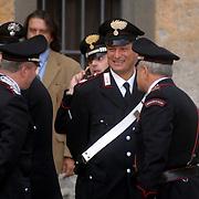 ITA/Bracchiano/20061118 - Huwelijk Tom Cruise en Katie Holmes, politie beveiling, carabiennieri