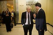 DIANE ABBOTT;  BORIS JOHNSON; GEORGE OSBORNE, Spectator Parliamentarian Of The Year Awards<br />Claridge's Hotel, Brook Street. London. 13 November 2008 *** Local Caption *** -DO NOT ARCHIVE-© Copyright Photograph by Dafydd Jones. 248 Clapham Rd. London SW9 0PZ. Tel 0207 820 0771. www.dafjones.com.