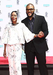 Hand & Footprint Ceremony honoring Cicely Tyson at The TCL Chinese Theatre in Hollywood, California on 4/27/18. 27 Apr 2018 Pictured: Tyler Perry, Cicely Tyson. Photo credit: River / MEGA TheMegaAgency.com +1 888 505 6342
