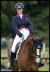 August 5, 2017 - United Kingdom - Image licensed to i-Images Picture Agency. 05/08/2017. Gatcombe Park, United Kingdom. Zara Tindall competing in the dressage event on her horse BGS Class Affair  on the second day of the Festival of British Eventing at Gatcombe Park, United Kingdom.  Picture by Stephen Lock / i-Images (Credit Image: © Stephen Lock/i-Images via ZUMA Press)