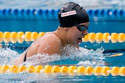 Tjasa Vozel of Ilirija (SLO) competes during the 35th International Swimming meeting Ljubljana 2010, on May 23, 2010 at Kodeljevo pool, Ljubljana, Slovenia. (Photo by Vid Ponikvar / Sportida)