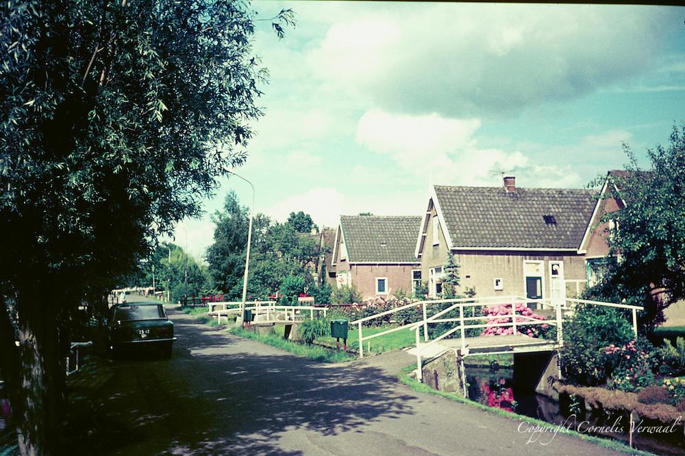 De Achterweg in Ammerstol anno 1977