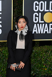 January 5, 2020, Beverly Hills, California, USA: AWKWAFINA during red carpet arrivals for the 77th Annual Golden Globe Awards, at The Beverly Hilton Hotel. (Credit Image: © Kevin Sullivan via ZUMA Wire)