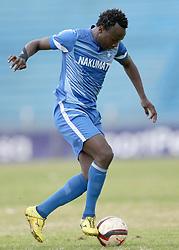 Kepha Aswani of Nakumatt FC in action against Gor Mahia during their Sportpesa Premier League tie at Nyayo Stadium in Nairobi on August, 2, 2017. Gor won 1-0. Photo/Fredrick Omondi/www.pic-centre.com(KENYA)