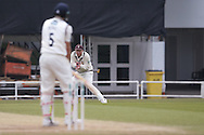 Yorkshire Batsman Joe Root  is caught  by Surrey All-Rounder & Captain Gareth Batty for 213 during the Specsavers County Champ Div 1 match between Yorkshire County Cricket Club and Surrey County Cricket Club at Headingley Stadium, Headingley, United Kingdom on 10 May 2016. Photo by Simon Davies.