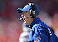 KANSAS CITY, MO - SEPTEMBER 29:  Head coach Tom Coughlin of the New York Giants reacts to a call during the second half against the Kansas City Chiefs on September 29, 2013 at Arrowhead Stadium in Kansas City, Missouri.  Kansas City defeated New York 31-7. (Photo by Peter Aiken/Getty Images) *** Local Caption *** Tom Coughlin