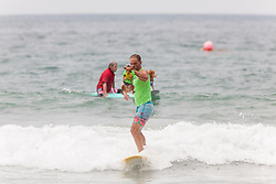 July 29, 2017 - Imperial Beach, CA, US - Surfdog returns to Imperial Beach for the twelfth  year...Marcello and Rusty (Credit Image: © Daren Fentiman via ZUMA Wire)