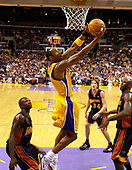 NBA-Golden State Warriors at Los Angeles Lakers-Apr 13, 2004