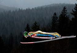 Jurij Tepes (SLO) during Ski Flying Hill Men's Team Competition at Day 3 of FIS Ski Jumping World Cup Final 2017, on March 25, 2017 in Planica, Slovenia. Photo by Vid Ponikvar / Sportida