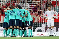 27.07.2011, Allianz Arena, Muenchen, GER, Audi Cup 2011, Finale,  FC Barcelona vs FC Bayern , im Bild Jubel nach dem 1-0 mit Joerg Butt (Bayern #22) // during the Audi Cup 2011,  FC Barcelona vs FC Bayern  , on 2011/07/27, Allianz Arena, Munich, Germany, EXPA Pictures © 2011, PhotoCredit: EXPA/ nph/  Straubmeier       ****** out of GER / CRO  / BEL ******