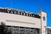 Vanderbilt University stadium, Nashville, Tennessee, USA.