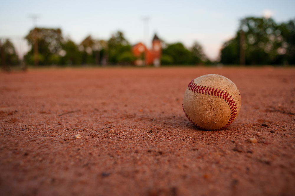 May 12, 2013; Bostwick, GA, USA;  Baseball field near downtown Bostwick. Photo by Kevin D. Liles / kevindliles.com
